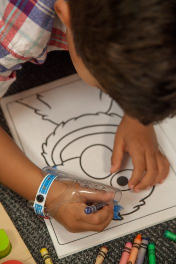 TGuard AeroThumb is soft and flexible, so kids can wear it at school!